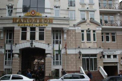 """Следователи ГПУ обыскивали сегодня и бизнес-центр """"Наполеон"""" в Одессе"""