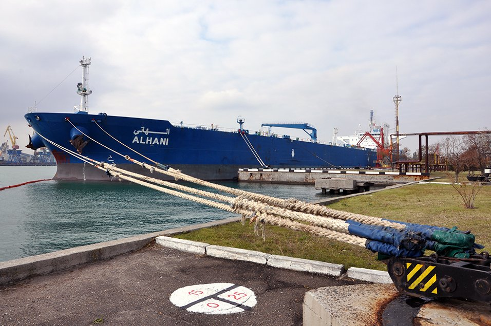 Одесский порт получил транзит нефти для Белоруссии