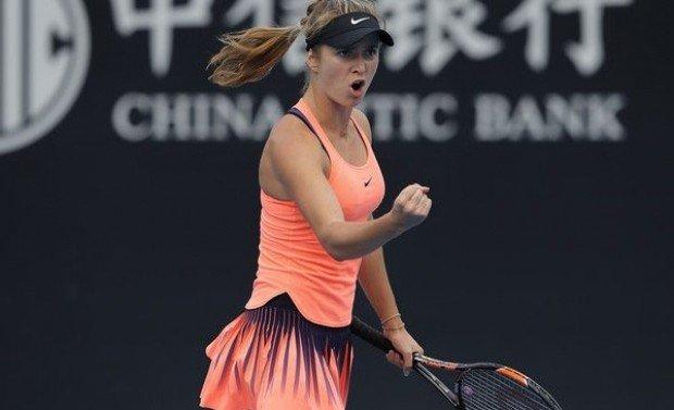Э.Свитолина вышла вфинал итогового теннисного турнира в КНР