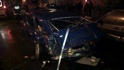 Серьезное ДТП произошло сегодня утром на улице Филатова