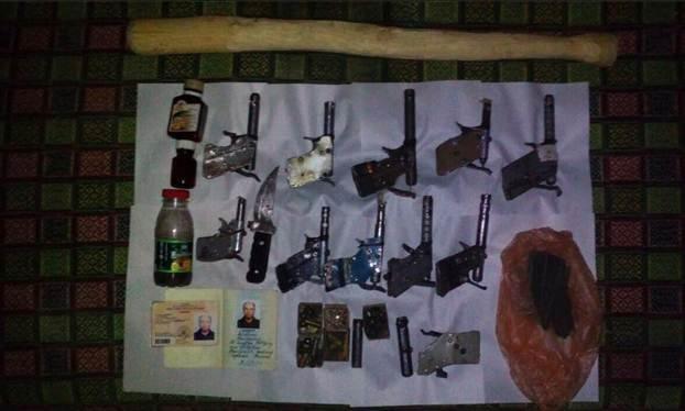 НаОдесчине упенсионера изъяли 11 самодельных пистолетов